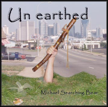 Un earthed CD -by Michael Searching Bear